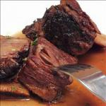 American Short Ribs Braised in Red Wine Alcohol
