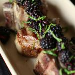 American Grilled Lamb Loin Chops With Blackberry Relish Dessert