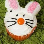 American Easter Bunny Muffins Dessert
