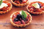 Canadian Little Provencal Tarts With Olive Oil Pastry Recipe Appetizer