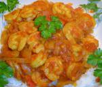 Bahamian Spiced Prawns With Tomatoes Dinner