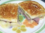 Canadian Grilled Roast Beef and Melted Pepper Jack Cheese Sandwich Appetizer