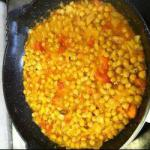 Indian Chick Peas to the Indian Appetizer