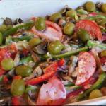 Italian Italian Chicken and Green Olives Dinner
