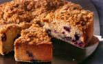 American Blueberryspice Coffee Cake Recipe Dessert