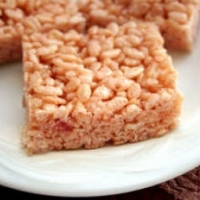Bolivian Strawberry Jam Rice Crisps Dessert