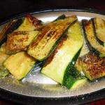 Canadian Grilled Zucchini 4 BBQ Grill