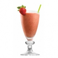 Hungarian Strawberry Banana Smoothie Drink