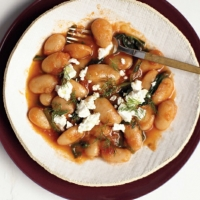 Beans with Feta recipe