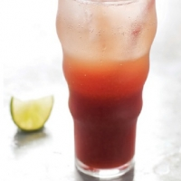 Canadian Cherry Lime Drink