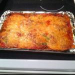 Italian Eggplant and Spinach Lasagna Dinner