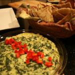 American Hot Artichoke and Spinach Dip 1 Appetizer