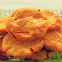 American Cheese And Chilli Patties Appetizer
