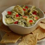 Australian Spinach and Artichoke Dip like Houstons Appetizer