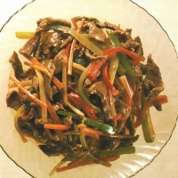 Stir-fried Beef with Vegetables  recipe