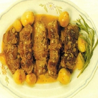 Stuffed Veal Olives  recipe