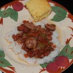 Spanish Easy Does It Red Beans and Rice Dinner