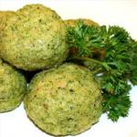 American Broccoli Balls 1 Appetizer