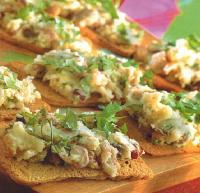 French Potato and Bean Pdte Appetizer