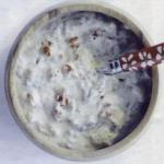 American Curd Sauce with Sun Dried Tomatoes and Basilicum Appetizer