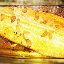 Canadian Oven Roasted Whole Salmon in Beer and Olive Oil BBQ Grill