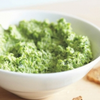 Syrian Pea Hummus Appetizer