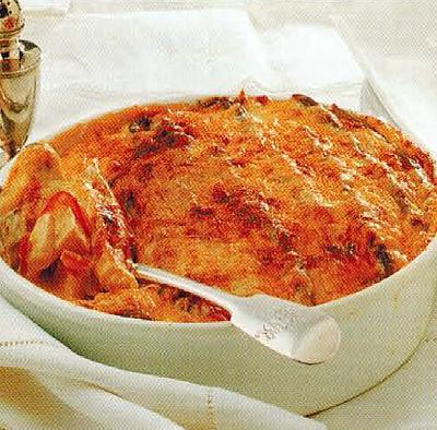 American Chicken And Asparagus Gratin Dinner